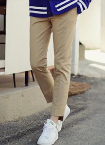 21057 - Uncut Cotton Chino Pants <br> (4 size) <br>