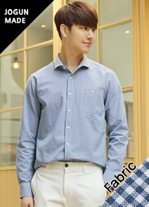 21112 - Ash De Small Check Shirt <br> (3 size) <br>