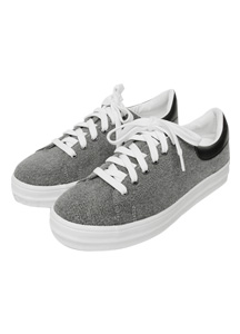 21129 - <b>5cm high-level shoes</b> <br> Clip Casual Sneakers <br> (5 mm) <br>