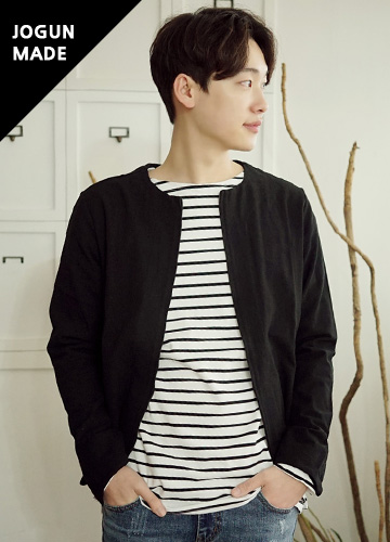 21157 - Plate Zip Cardigan <br> (3 size) <br>