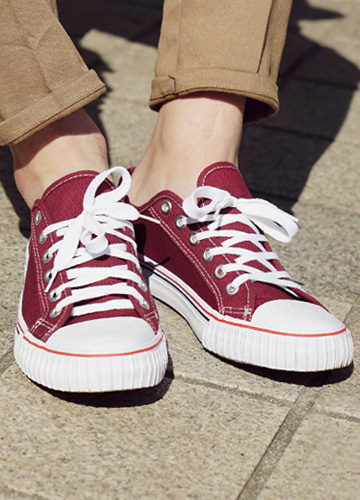 21184 - Canvas Sneakers <br> (5 mm) <br> <font color='#ff0000'><b>[Man and woman couple]</b></font> <br>
