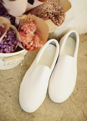 21199 - <b>5cm high-level shoes</b> <br> Samuel Basic Slip-on Shoes <br> (5 mm) <br>