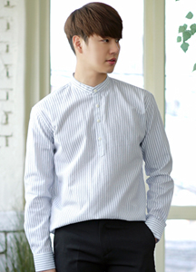 21245 - Shave Stripe China Shirt <br> (3 size) <br>