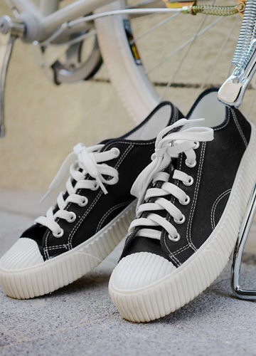 21246 - Canvas Sneakers <br> (5 mm) <br> <font color='#ff0000'><b>[Man and woman couple]</b></font> <br>