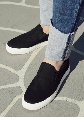 21302 - light cotton Slip-on Shoes <br> (5 mm) <br>