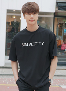 21334 - simple City Short T shirts <br> (1 size) <br>