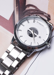 21342 - Lawrence Metal Watch <br>