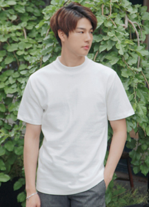 21383 - 10 Male Half Neck Short T shirts <br> (1 size) <br>