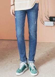 21452 - Salt Basic Damage Jeans <br> (4 size) <br>