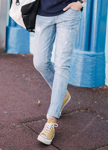 21464 - Joey Banding Damage Jeans <br> (4 size) <br>