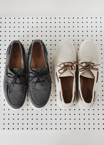 21477 - <b>4cm height-high shoes</b> <br> Marni Boat Shoes <br> (5 mm) <br>