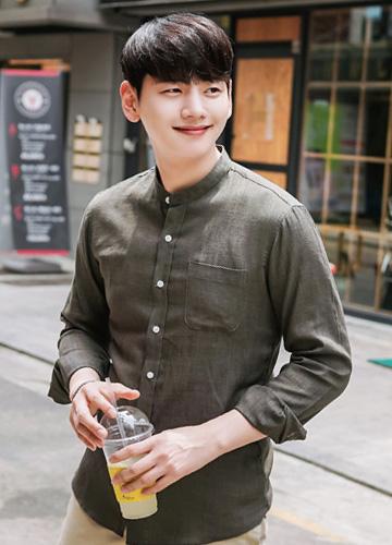 21478 - Sveji China Linen shirt <br> (2 size) <br>