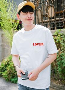 21488 - Rubber Pocket Short T shirts <br> (1 size) <br>