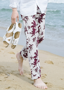 21529 - Linen Hawaiian Type 2 Pants <br> (2 size) <br>