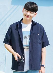 21532 - Aplon Linen Short-sleeve Shirt <br(1 size)<br>