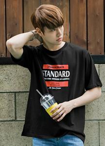 21545 - Standard Print Short T shirts <br> (1 size) <br>