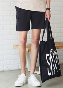 21584 - Cargo Banding Shorts <br> (2 size) <br>