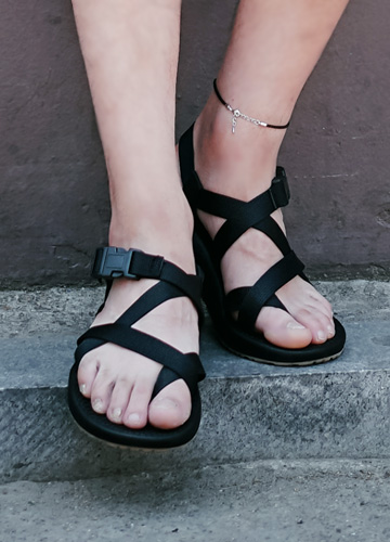 21528 - J. Strap Cushion Sandals <br> (5 mm) <br>
