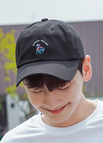 21593 - Roller embroidery cotton ball cap <br>