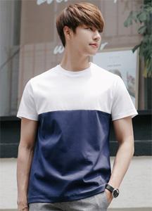 21620 - Arrange color combination Short T shirts <br> (1 size) <br>