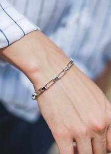 21657 - Stick lane chain bracelet <br>