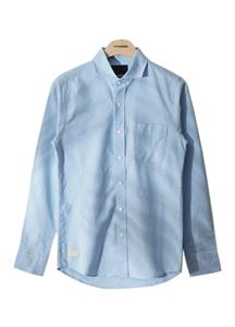 18303 - [HONZE] <br> Washing Oxford Hachikara Shirt <br> (3 size) <br>