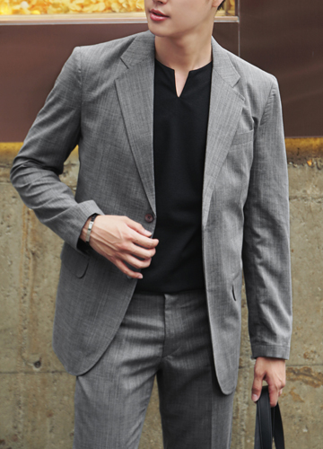 21692 - Stewart Linen Suit Setup <br> (3 size) <br>