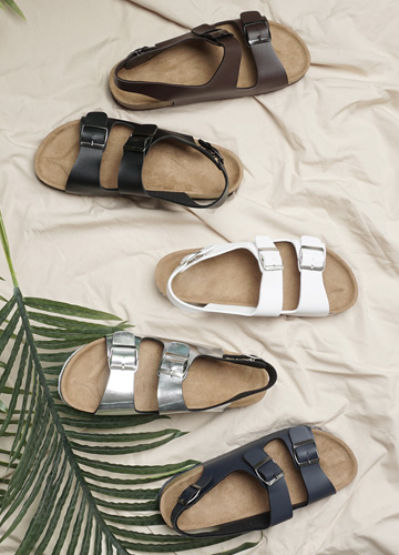 16969 - Buckle Strap Sandals <BR> (4 size) <BR>