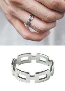 21777 - Sentimental Silver Ring <br>