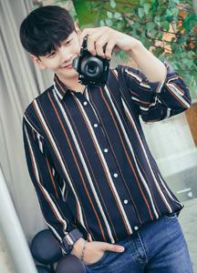 21780 - Fandom Stripe Shirt <br> (1 size) <br>