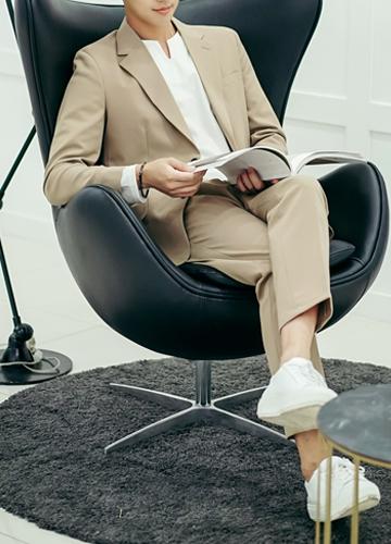 21806 - Solid 2type Suit set <br> <font style=font-size:11px;color:#595959>48 (90) / 50 (95) / 52 (100)</font> <br>