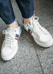 21948 - Benny two lines Sneakers <br> (5 mm) <br>