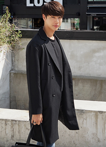 21992 - Double double overcoat <br> <font style=font-size:11px;color:#595959>Free (95 ~ 105)</font> <br>