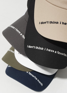 22020 - Everly Lettering Ball Cap <br>