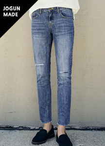 22044 - Latex Washing Cutting Denim Jean <br> <font style=font-size:11px;color:#595959>28/30/32/34</font> <br>
