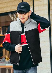 22137 - Argyle Soft Padding Vest <br> <font style=font-size:11px;color:#595959>1 (95) / 2 (100)</font> <br>