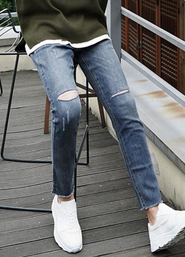 22146 - Real double cut Jeans <br> <font style=font-size:11px;color:#595959>28/30/32/34/36</font> <br>