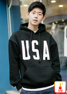 20259 - USA Lettering Hoodie <br> (1 size) <br>