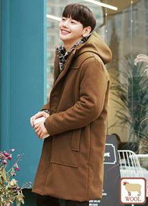 22272 - London Hood Wool Coat <br> <font style=font-size:11px;color:#595959>Free (95 ~ 105)</font> <br>