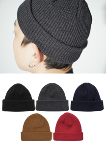 22273 - Short Knit Watch Cap <br>