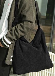 22294 - Casual corduroy cross bag <br>
