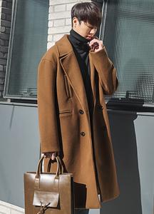 22327 - Decimator overfit Long double coat <br> <font style=font-size:11px;color:#595959>Free (95 ~ 105)</font> <br>
