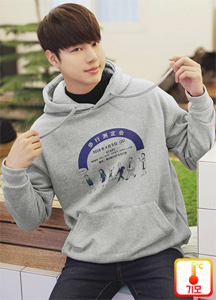 22345 - Character Runner napping Hoodie <br> <font style=font-size:11px;color:#595959>Free (95-100)</font> <br>