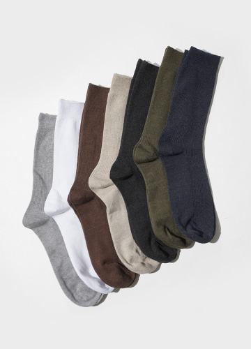 22353 - Soft Medium Corrugated Socks <br>