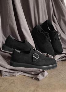 22404 - 2type Plain Monk Shoes <br> <font style=font-size:11px;color:#595959>250mm ~ 280mm</font> <br>