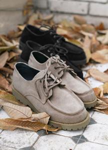 22410 - Penny Suede Mock Shoes <br> <font style=font-size:11px;color:#595959>250mm ~ 280mm</font> <br>