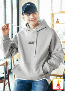 22392 - Hockey printing napping Hoodie <br> <font style=font-size:11px;color:#595959>Free (95-100)</font> <br>