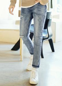 22457 - Overcutting damage Jeans <br> <font style=font-size:11px;color:#595959>28/30/32/34/36/38 /</font> <br>