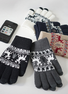 22475 - Deer Smartphones Touch Gloves <br>
