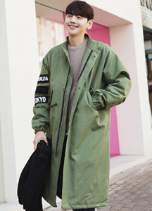 22485 - China overfit patch field jacket <br> <font style=font-size:11px;color:#595959>Free (95 ~ 105)</font> <br>